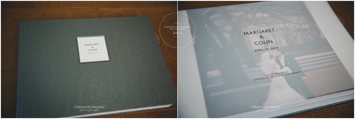 Chicago Queensberry flush mount album | Queensberry buckram cover | Chicago Art Institute wedding pictures