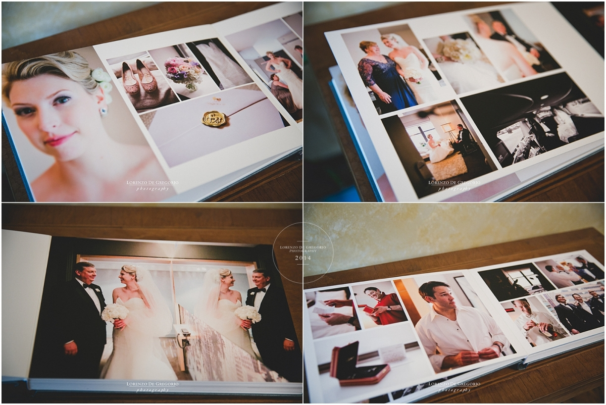 Chicago Queensberry flushmount album | Queensberry buckram cover | Chicago Newberry library wedding pictures