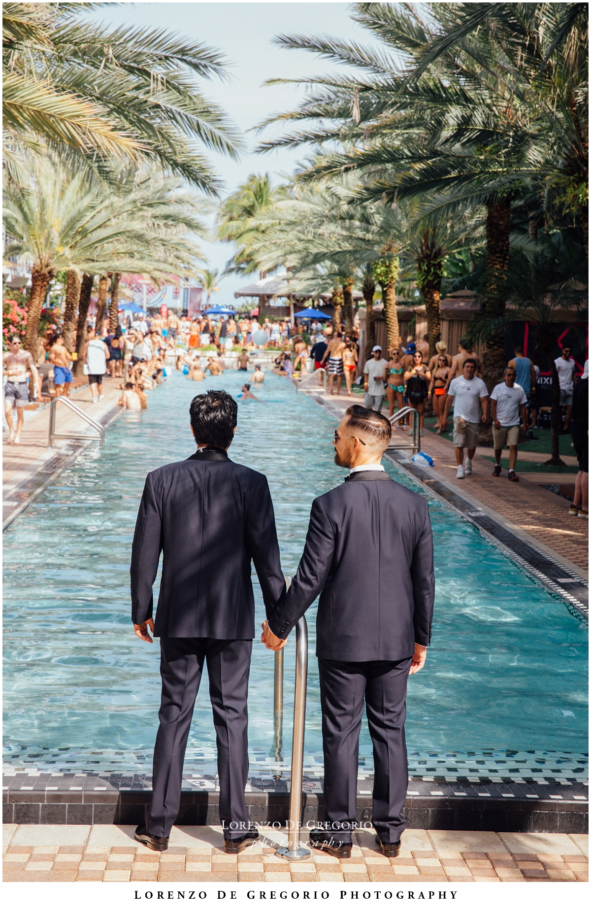 Miami, same sex wedding.