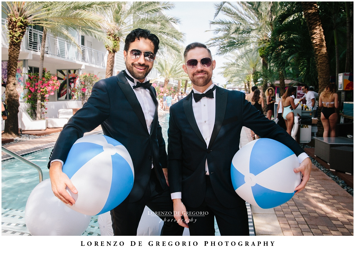 Miami same sex wedding photography