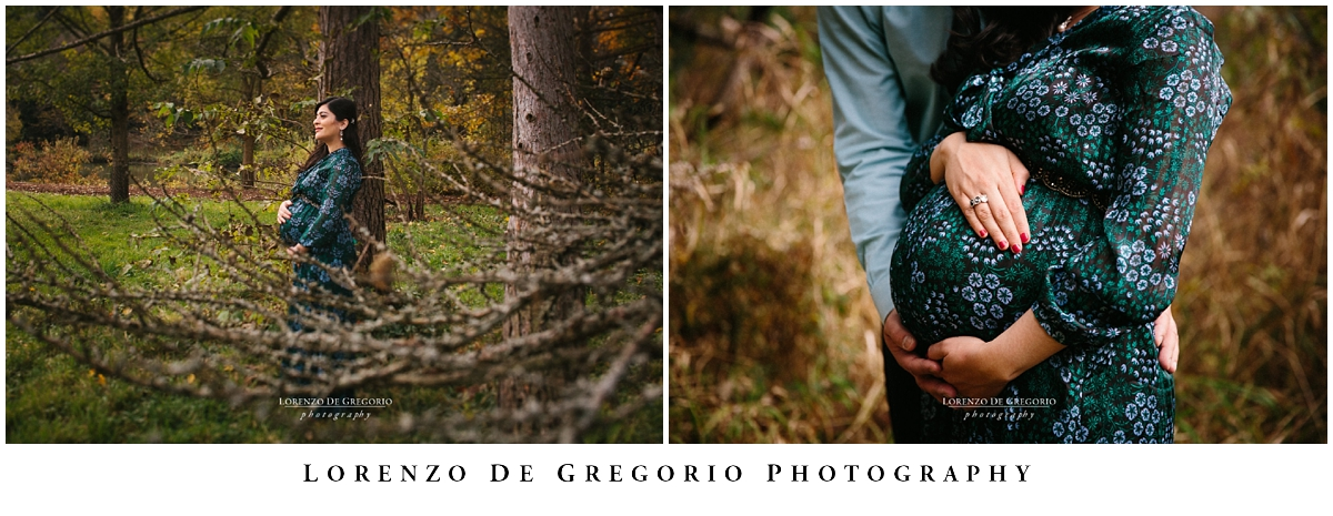 Morton Arboretum Maternity session | Chicago wedding photographer