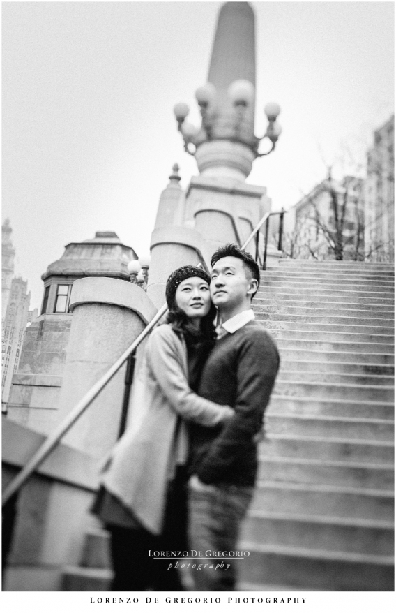 Downtown Chicago engagement pictures | Chicago engagement session | Chicago wedding photographer