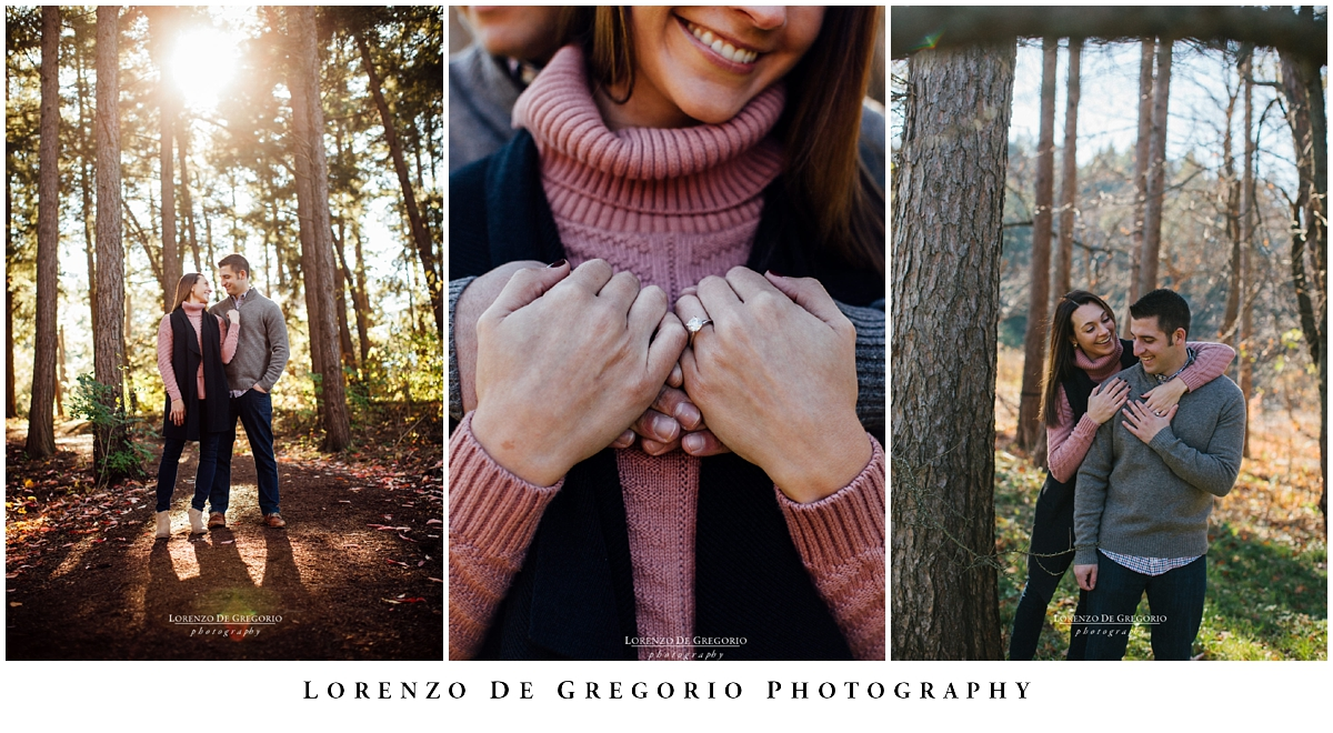 Morton Arboretum engagement photography | Chicago engagement photographer | Chicago fall engagement photography | Lorenzo De Gregorio Photography