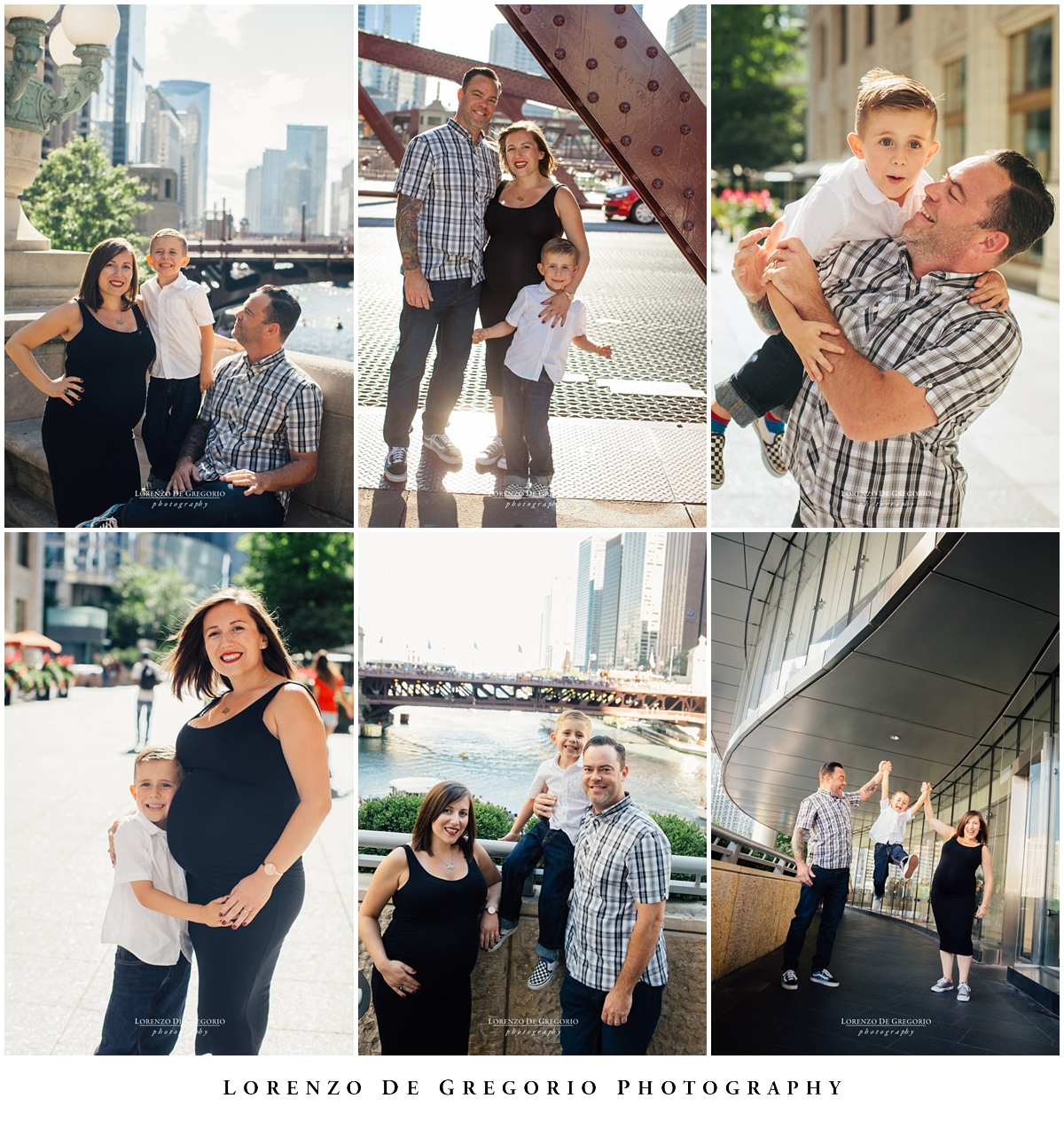 Downtown Chicago photography family session