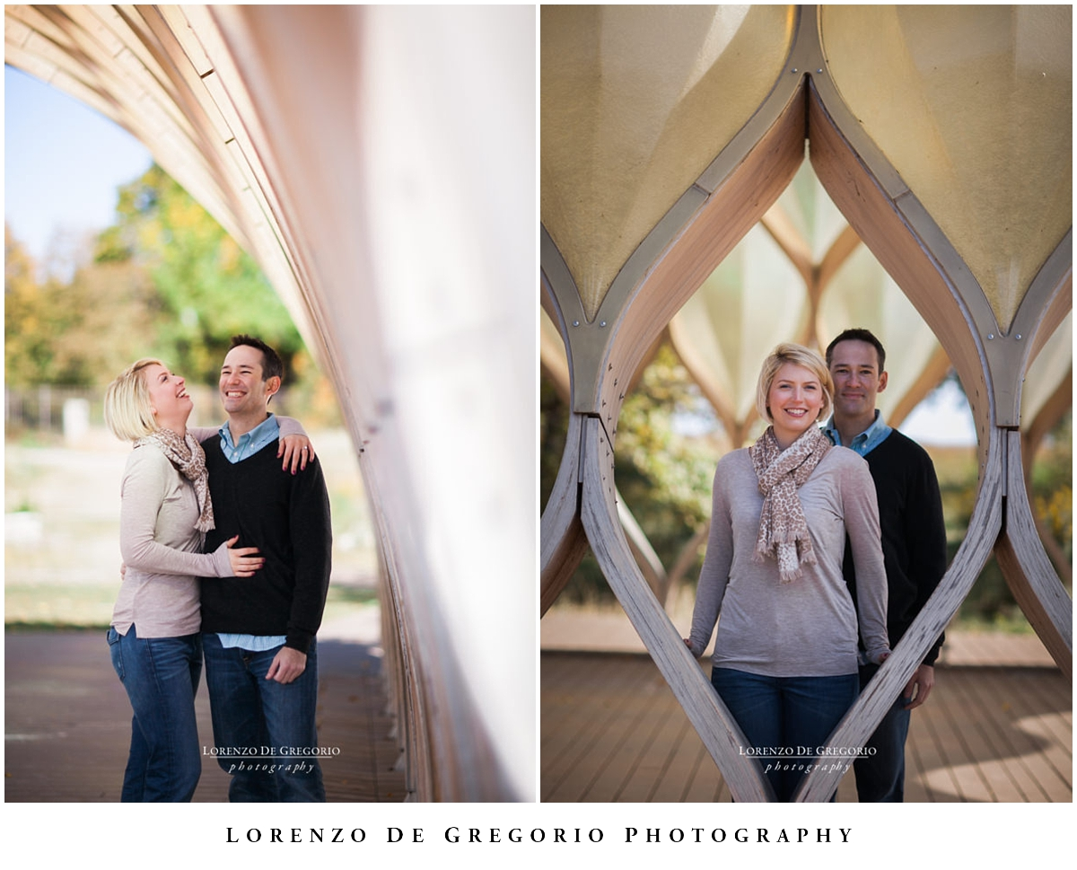 Chicago engagement photographer | Lincoln Park engagement photos | Chicago honeycomb