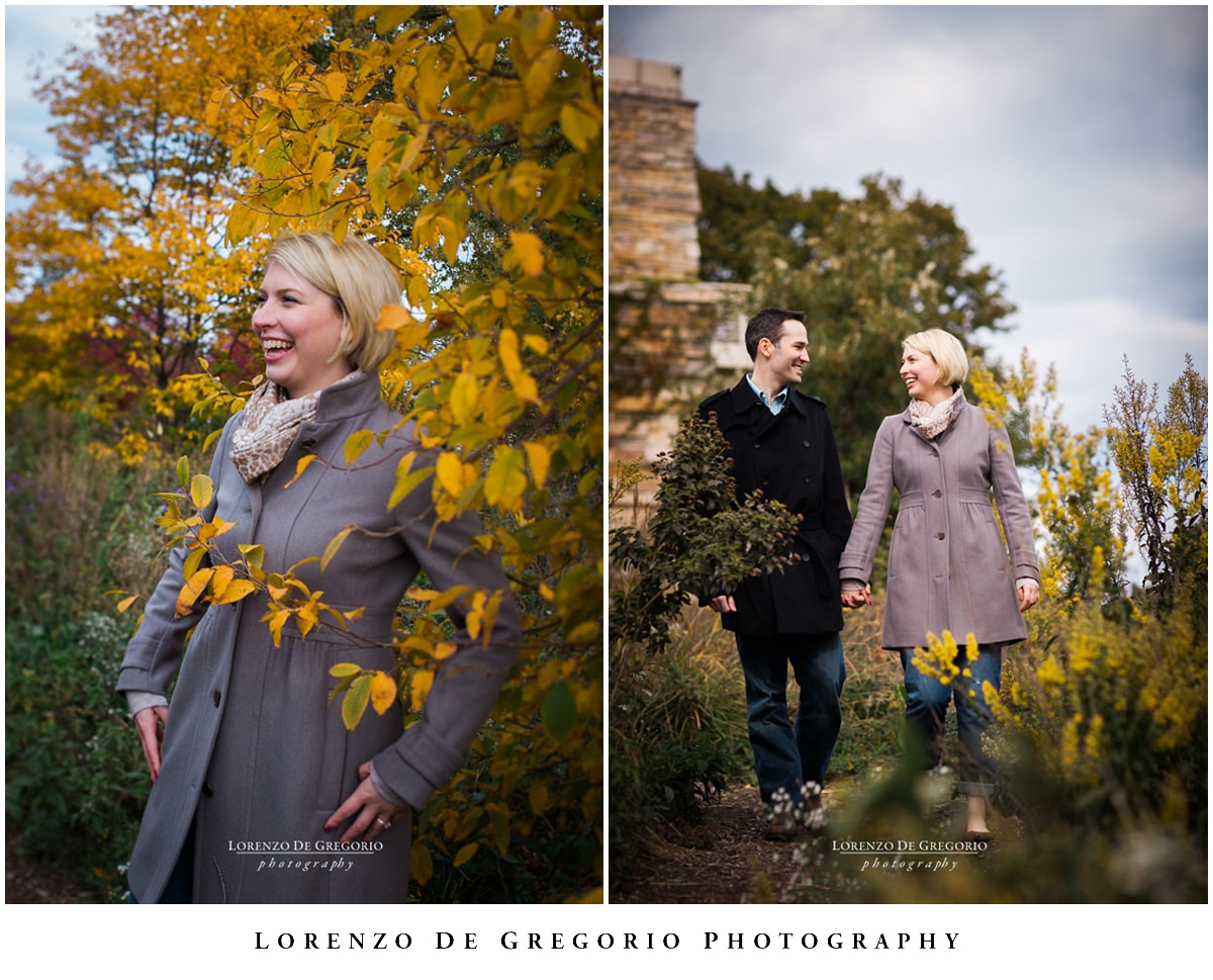 Chicago engagement photographer | Lincoln Park engagement photos | Notebaert nature museum engagement session