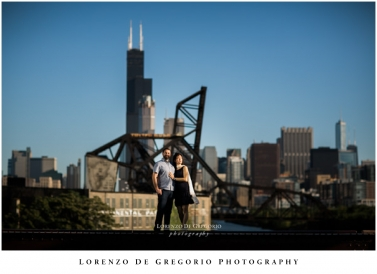 Ping Tom Park engagement | Northerly island engagement pictures | Chicago engagement photography | Ali and Jay