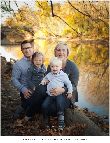 Northbrook Glenview Wheeling family photos | Fall family portraits