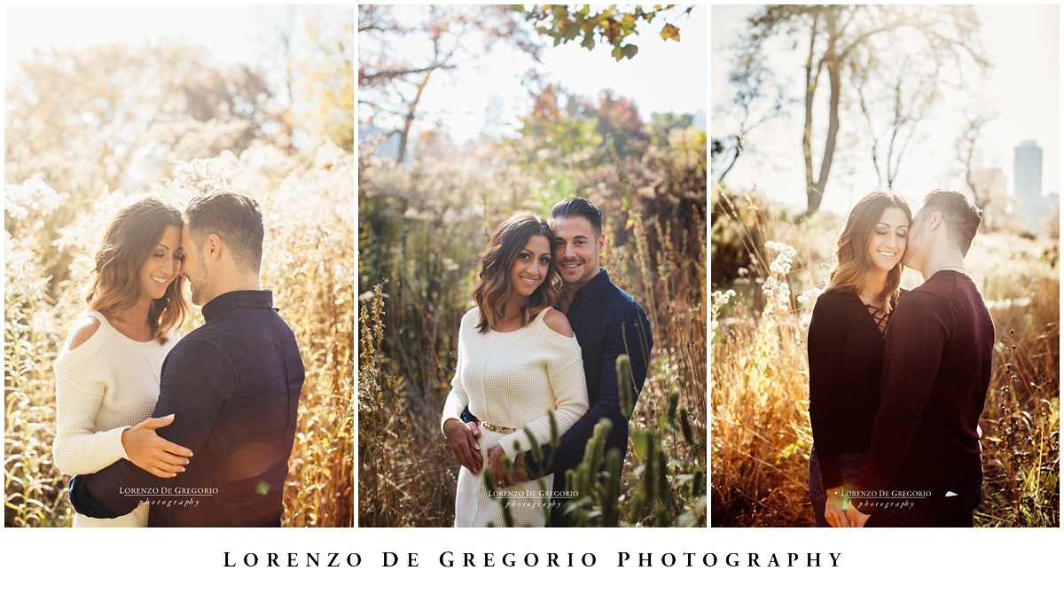 Lincoln Park Engagement pictures