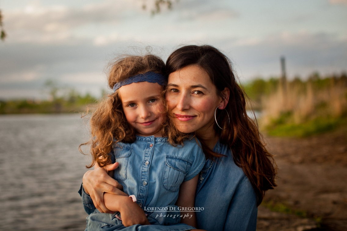Glenview family photographer | Golden hour portraits