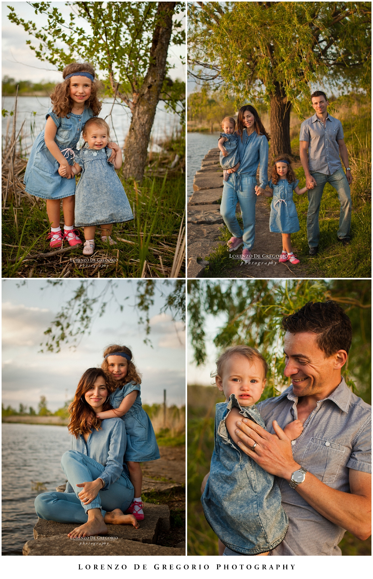 Glenview family photographer | Northbrook family photographer | Sunset family portraits