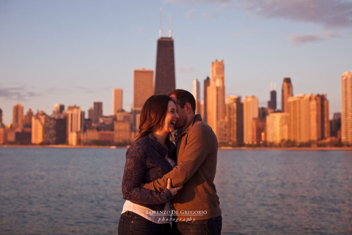 Chicago engagement photography | North avenue beach engagement photos