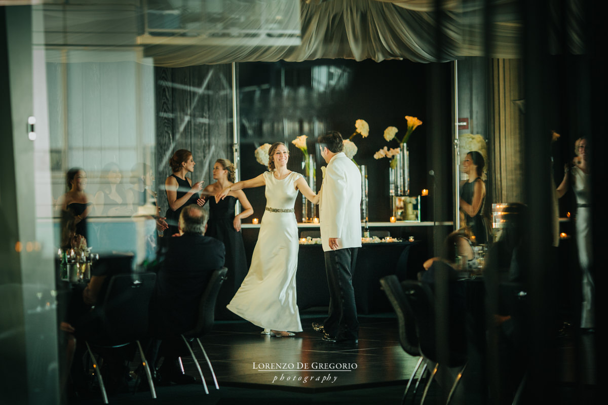 Chicago wedding photographer first dance