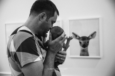 Lifestyle newborn photography