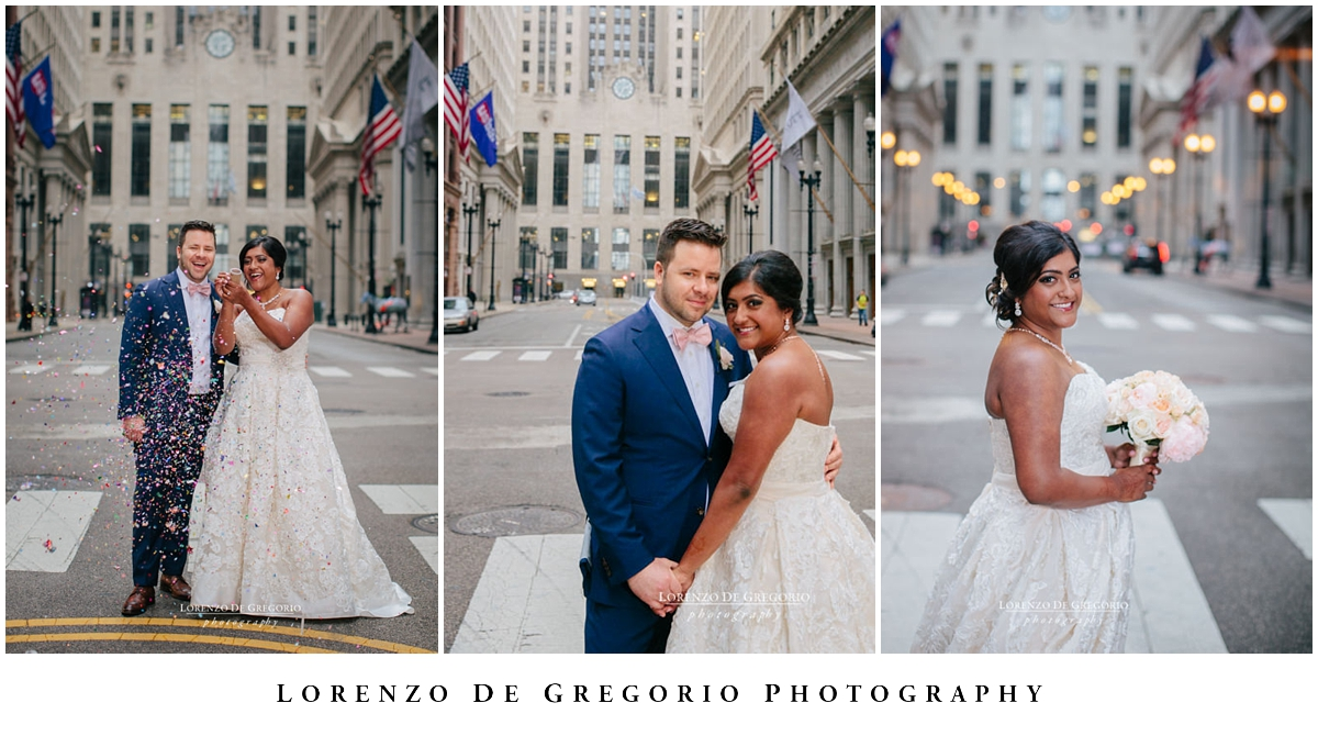 Board of trade wedding pictures