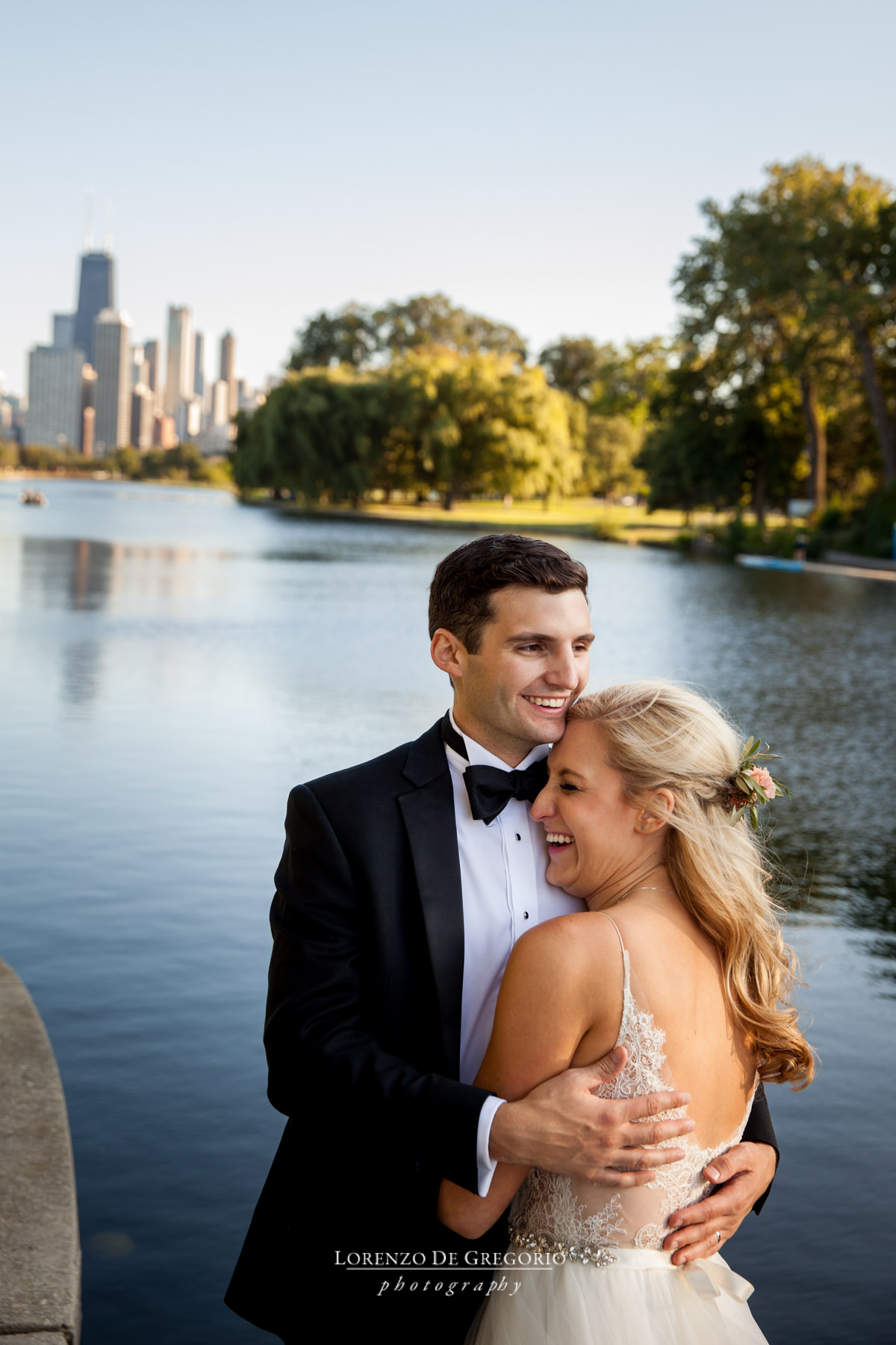 Peggy Notebaert Nature Museum Wedding | Best Chicago Wedding photographer | Chicago sunset wedding