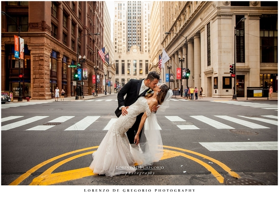 Lasalle street wedding pictures