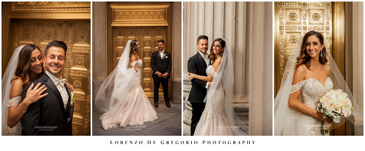 Holy Name Cathedral wedding | Lasalle Board of trade wedding pictures