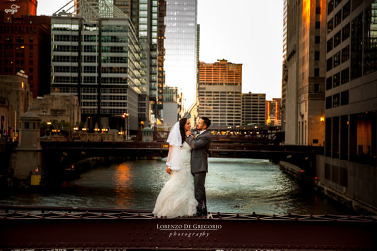 Chicago Mexican Puerto Rican South Branch wedding
