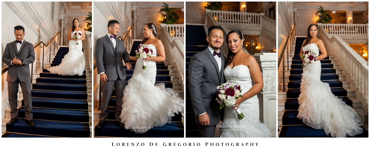 Kimpton Grey hotel wedding