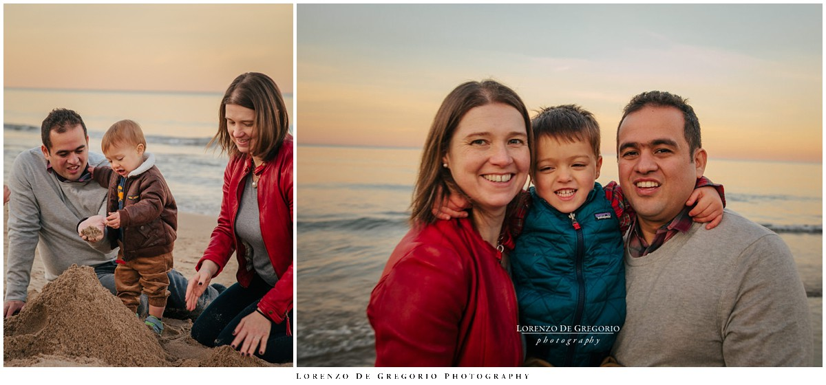 Gillson Park Wilmette family photography